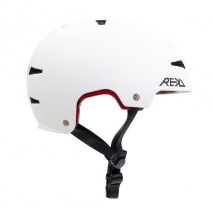 Rekd Protection Elite 2.0 Helmet White Side