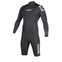 Mystic - Star 3/2mm Black Longarm Shorty FZ Mens Wetsuit