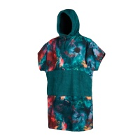 Mystic - Poncho All Over Print in Teal