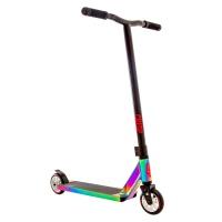 Crisp - Surge Colour Chrome Black Stunt Scooter