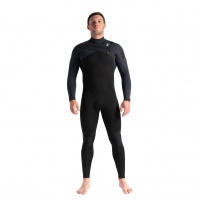 C-Skins - Rewired 3:2 Mens Chest Zip Steamer Wetsuit Black Diamond