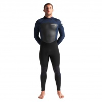 C-Skins - Legend 3:2 Mens GBS Back Zip Steamer Wetsuit Black Slate