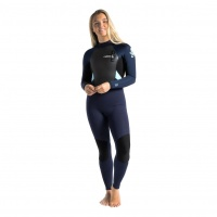C-Skins - Element 3:2 Womens Back Zip Full Wetsuit Slate Ice Blue
