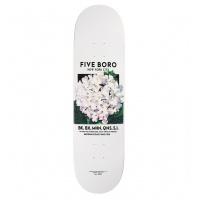 5Boro - Flower Seed White Skateboard Deck 8.5