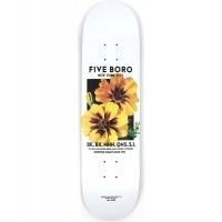 5Boro - Flower Seed Yellow Skateboard Deck 8.25