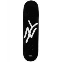 5Boro - Monogram Black Skateboard Deck  8.0