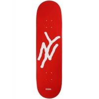 5Boro - Monogram Red Skateboard Deck 8.25