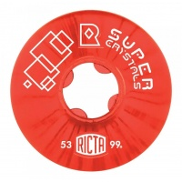 Ricta - Super Crystal Red 53mm