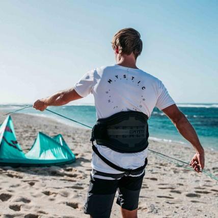 Mystic Stealth Hardshell Kite Harness Nick Jacobson
