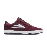 Lakai - Atlantic Burgundy Suede Skate Shoes
