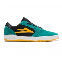 Lakai - Atlantic Jade Black Suede Skate shoes