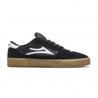 Lakai - Cambridge Black Gum Suede Skate Shoes
