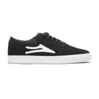 Lakai - Griffin Black Suede Skate Shoe