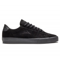 Lakai - Newport Black and Black Suede Skate Shoe