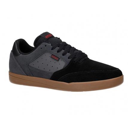 Etnies Veer Black Dark Grey Gum Skate Shoes