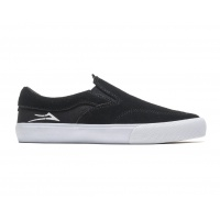 Lakai -  Owen Kids Black Suede Skate Shoe