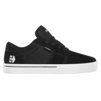 Etnies -  Kids Barge LS Black White Skate shoes