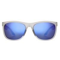 Sinner - Rockford Matte Crystal Blue Oil Lens Sunglasses