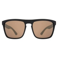 Sinner - Thunder Matte Black Gold Mirror Lens Sunglasses