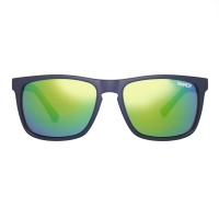 Sinner - Oak Matte Blue Green Mirror Green Sintec Lens Sunglasses