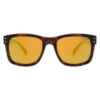 Sinner - Mad River Brown Tortoise Yellow Oil Floating Sunglasses