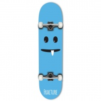Fracture - Lil Monsters Blue Complete Skateboard 7.75