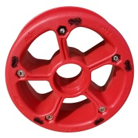 MBS - Rockstar II Mountainboard Hub Red