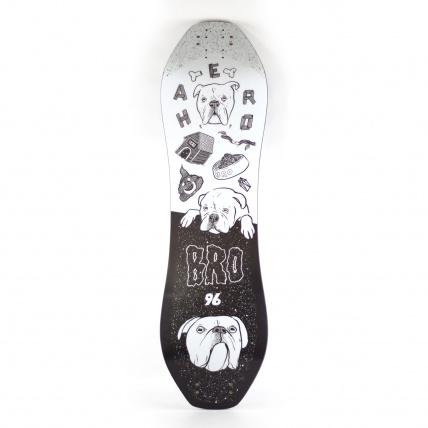 Haero Bro 96 Mountainboard Deck Doggo Graphics