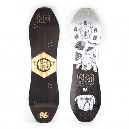 Haero Bro 96 Mountainboard Deck Doggo Graphic