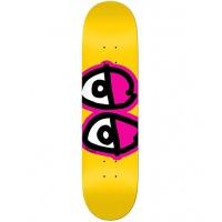 Krooked - Team Eyes Yellow Skate Deck 8.25