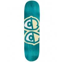 Krooked - Team Eyes White Skate Deck
