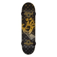 Santa Cruz - Jackpot Black hand Complete Skateboard 8.25