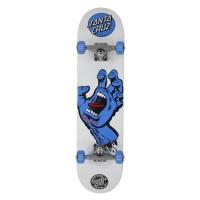 Santa Cruz - Screaming Hand White Complete skateboard 7.75