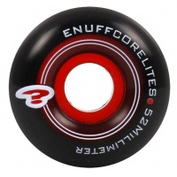 Enuff - Corelites Black Red Skate Wheels 52mm