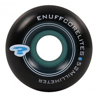 Enuff - Corelites Black Blue Skate Wheels 52mm