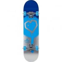 Blueprint - Spray Heart Complete Skateboard 7.25 Blue