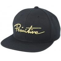 Primitive - Nuevo Script Snapback Hat Black Gold