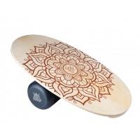 D Street Longboards - Balance Board Mandala Original