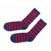 Independent - Grab Socks in Navy and Red