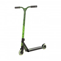 Grit Scooters - Extremist Black Marble Green Complete Scooter