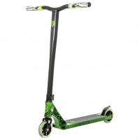 Grit Scooters - Elite Green Marble Black Complete Scooter