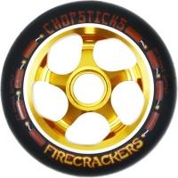 Eagle Supply - Chopsticks Firecracker 110mm Wheel Gold and Black PU
