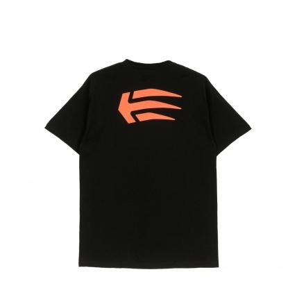 Etnies T-Shirt Joslin Black and Orange