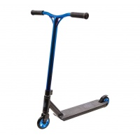 Blazer - Pro Outrun Blue Chrome Complete Scooter