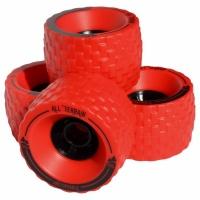 MBS - All Terrain Longboard Wheels Red