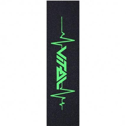 Vital Heartbeat Scooter Griptape Neon Green