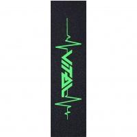 Vital - Heartbeat Scooter Griptape Neon Green