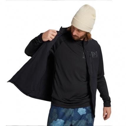 Burton AK Helium Stretch Vest Mens Insulator True Black