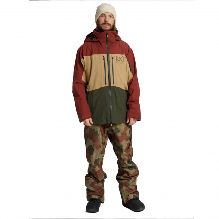 AK GORE-TEX Swash Mens Snowboard Jacket Sparrow Kelp Forest