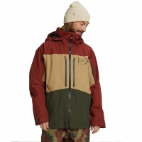 Burton - AK GORE-TEX Swash Mens Snowboard Jacket Sparrow Kelp Forest
